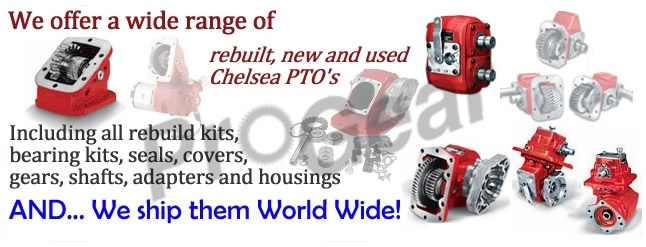 Chelsea PTO, new used and rebuilt, ready to ship
