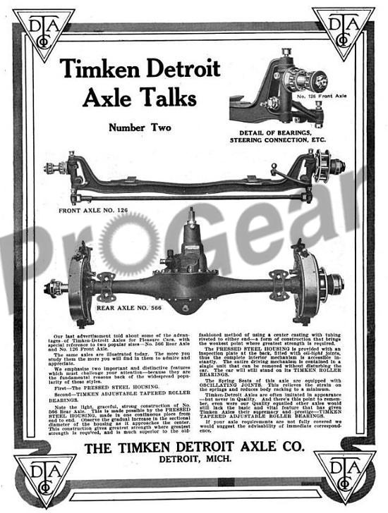 Timken Truck Differential